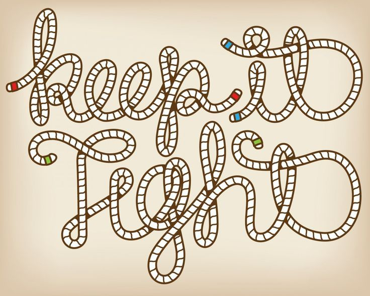 rope font - Google Search