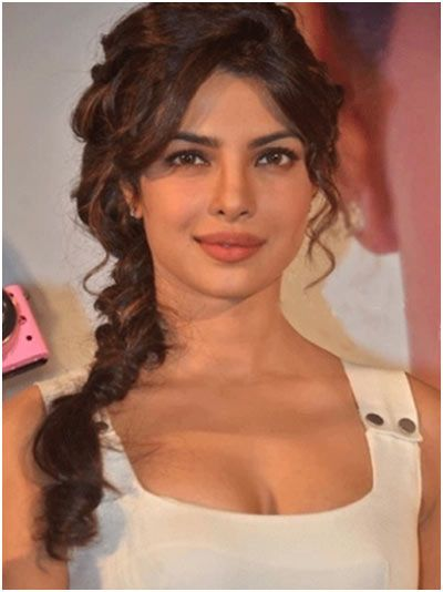 Standard Braid Indian Braid Hairstyles #priyankachopra