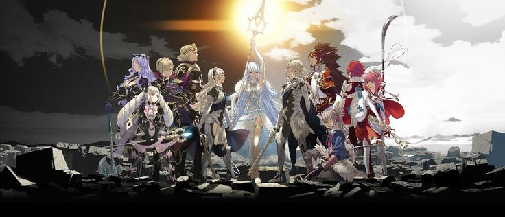 This official artwork from FE:If/Fates