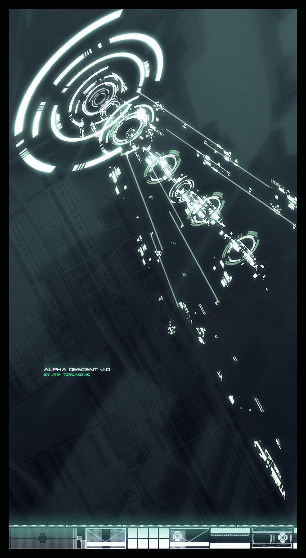 ALPHA DESCENT by phoenix07 Motion graphics design