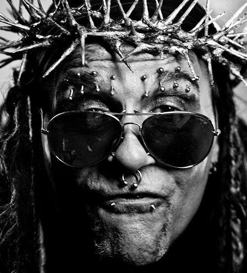 Ministry Al Jourgensen   ... on Pretty Hate Machine . It's really Ministry's Al Jourgensen