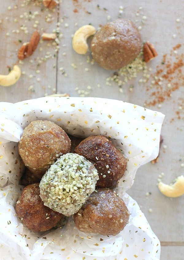 Low Carb No-Bake Nutty Caramel Energy Bites | Healthy Snacks, desserts, and treats | Recipe is gluten free, vegan, grain free, & low FODMAP