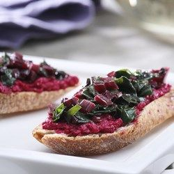 Roasted Beet Crostini - EatingWell.com