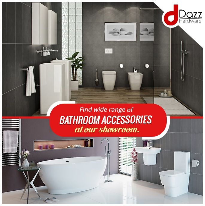 Find Wide Range Of #bathroom #accessories At Our Showroom. | Dazz Hardwares  And Fittings | Pinterest | Bathroom Accessories And Showroom