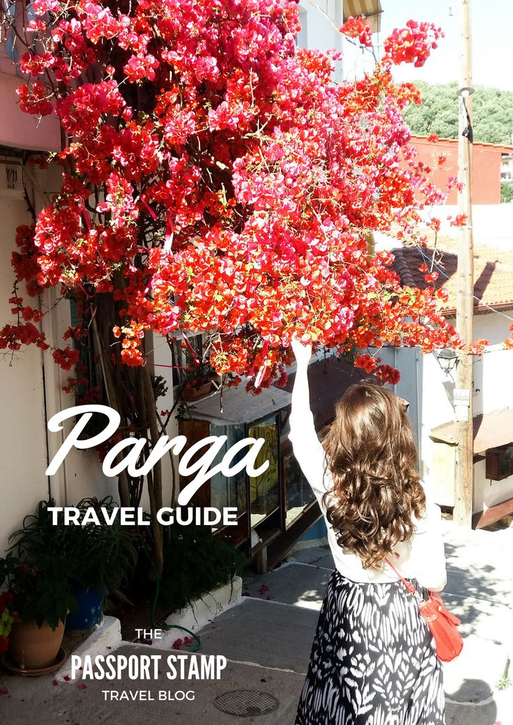Travel guide about small town in Greece, Parga.   Travel Guide written by The Passport Stamp Travel Blog