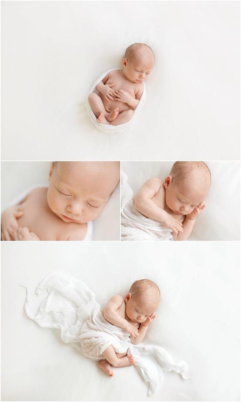 Charlie Farlie Photography: Newborn Baby Boy Bryn Natural light, minimalist style, simple white set up