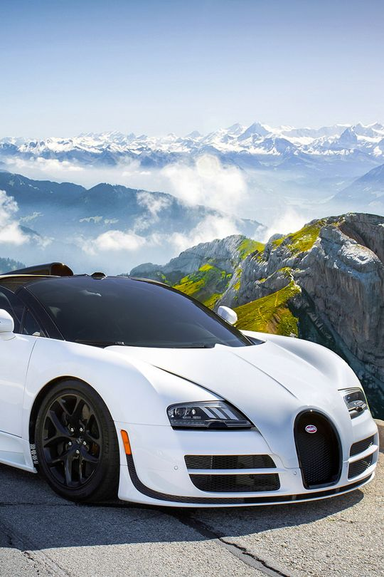 Bugatti Veyron // The best French car ever!