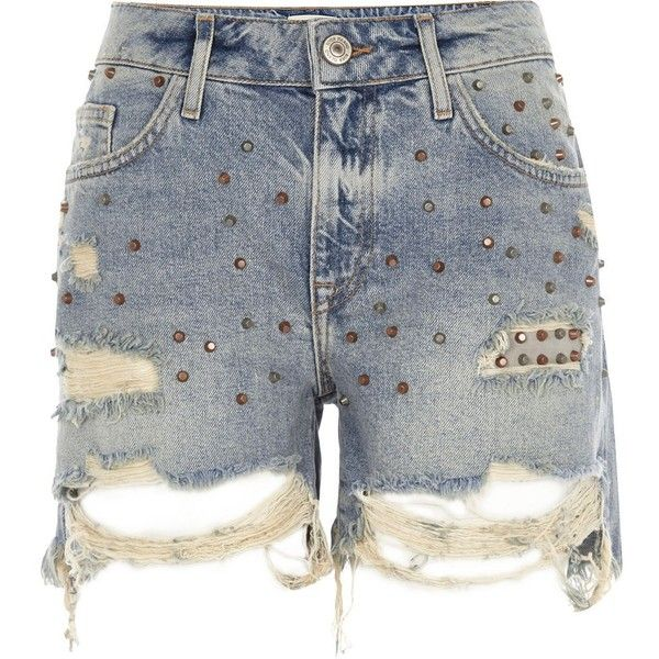 25  best ideas about Ripped Jean Shorts on Pinterest | Summer ...