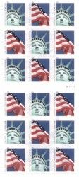 lady-liberty-and-u-s-flag-postage-stamps