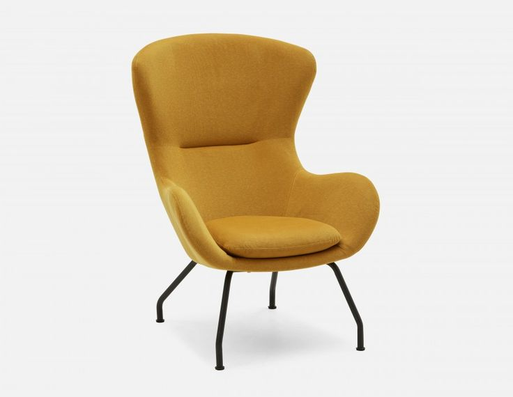 BENNY - Armchair - Yellow