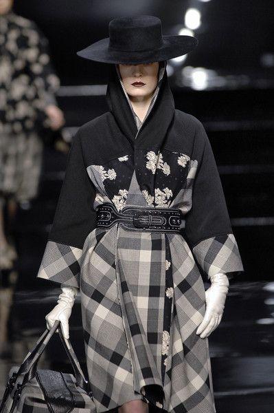 Kenzo Fall 2007 Asian inspired fashion