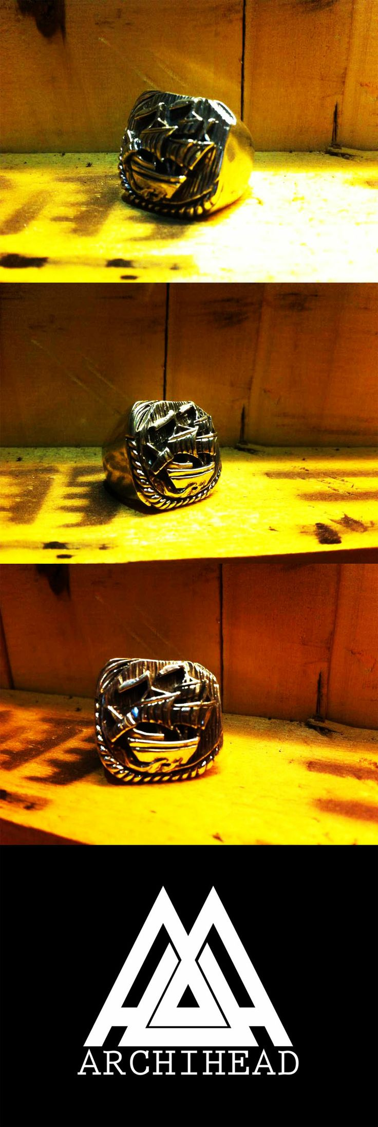 ARCHIHEAD Rings (shape) Archiheadproject@gmail.com