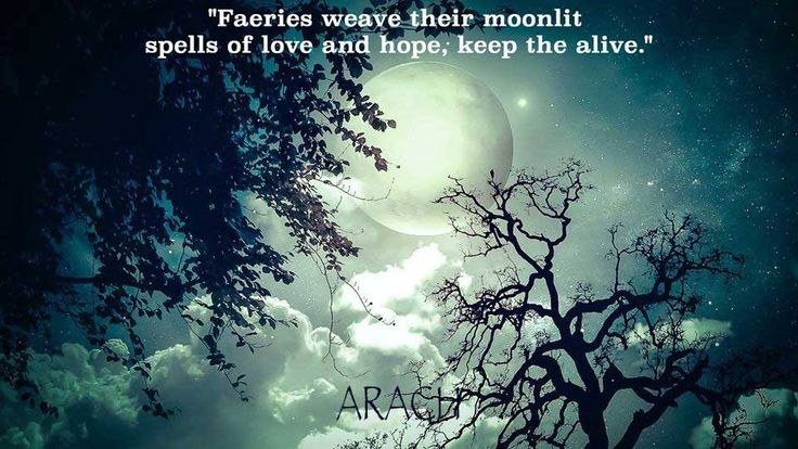 """""""Faeries weave their moonlit spells of love and hope, keep the alive."""" www.readarach.com  #faeries #arach #moonlit #spells"""