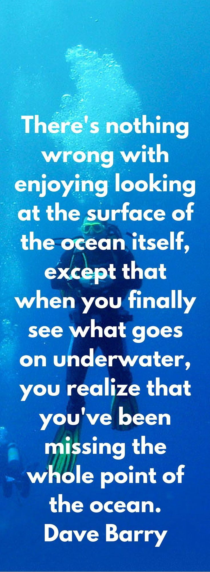 Our Favorite Ocean Quotes and Sayings | Art of Scuba Diving.