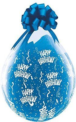Balloons 26384: Pioneer Balloon Company 37548 Birthday-A-Round Latex Balloon, 18 , Clear -> BUY IT NOW ONLY: $42.98 on eBay!