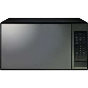 Samsung, 1.4 cu. ft. Countertop Microwave in Stainless Steel with Shiny Mirror Design, MG14H3020CM at The Home Depot - Mobile