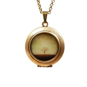 The Round Earth Necklace, $32, now featured on Fab.