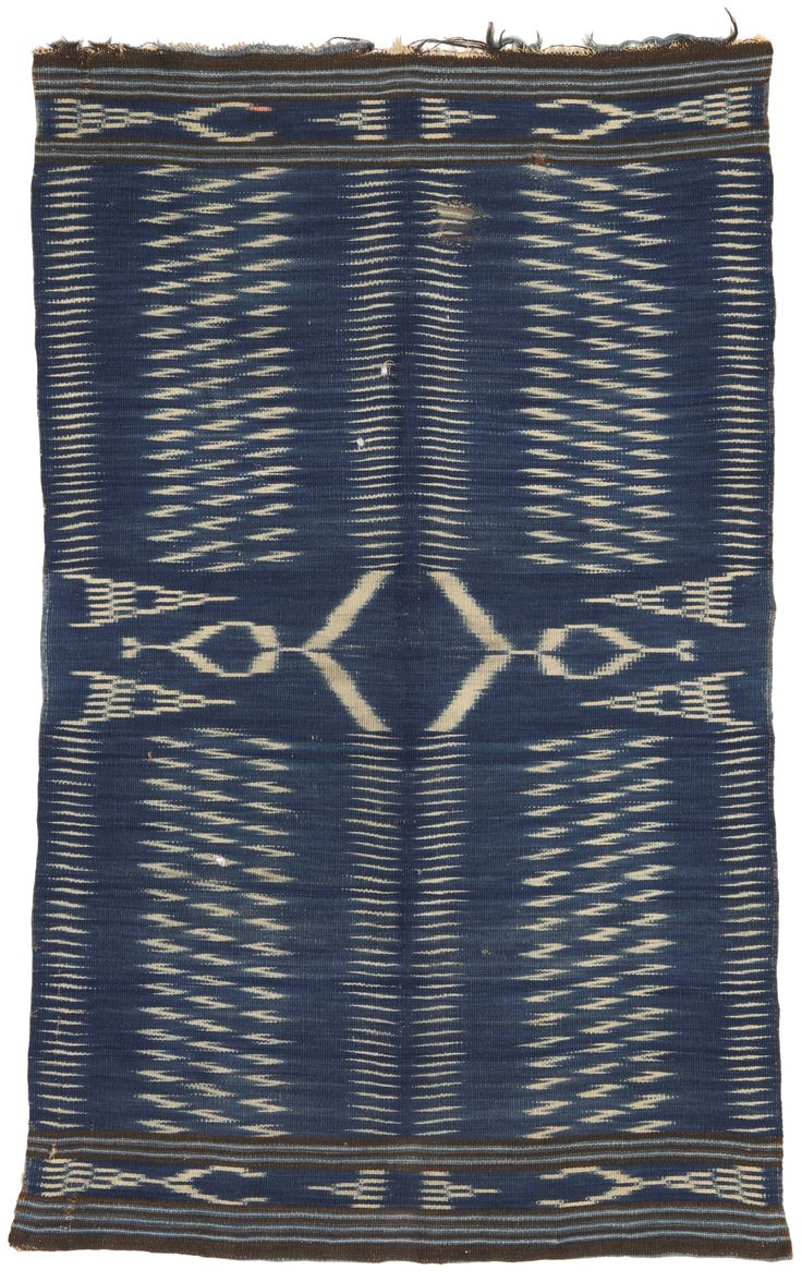 Classic Rio Grande Ikat Blanket, New Mexico | Lot | Sotheby's
