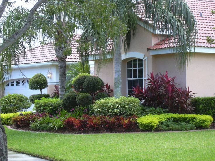 Landscape Plans For Front Yard Part - 15: Small Front Yard Landscaping Ideas Florida