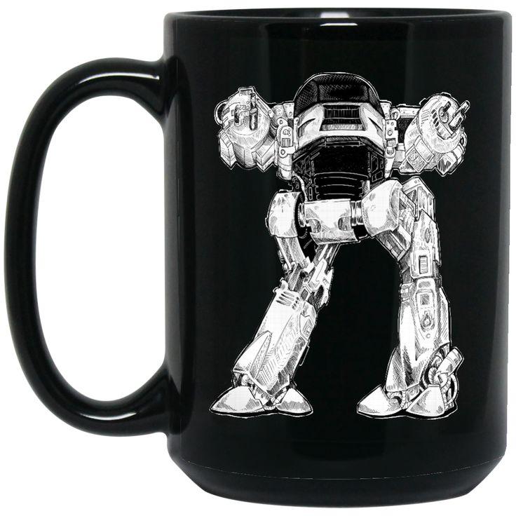 10 SECONDS TO COMPLY BM15OZ 15 oz. Black Mug