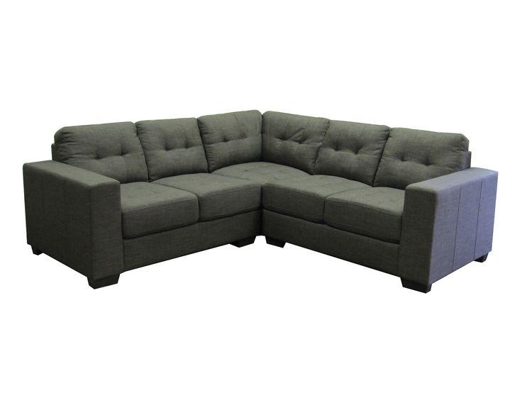 Matiz Fabric Corner Sofa Grey   Pallucci Furniture