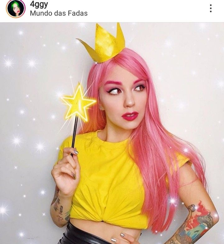 Follow Only Girls For More In 2020 Bff Halloween Costumes Pink Hair How To Draw Hair
