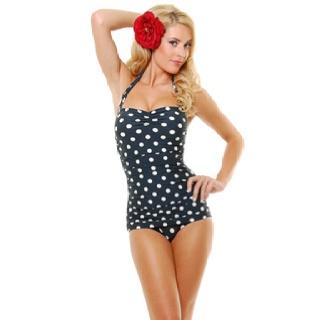 MINE http://www.unique-vintage.com/vintage-inspired-swimsuit-style-black-polka-bathing-suit-p-2468.html