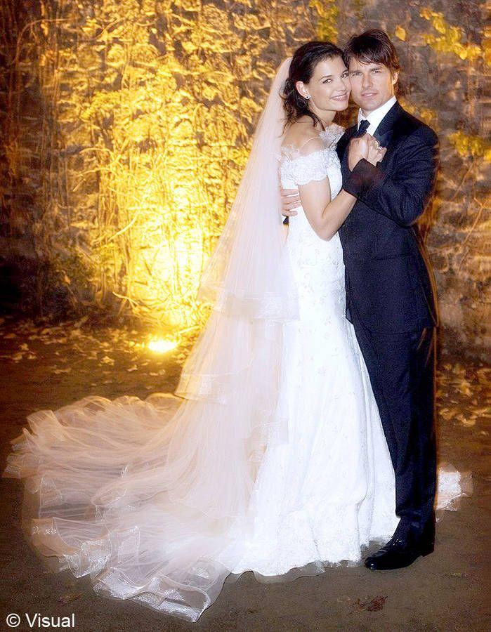 Le mariage de Katie Holmes et Tom Cruise / Les meilleures photos de mariage de stars