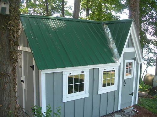 32 best images about diy shed makeover on pinterest pool for Diy outside playhouse