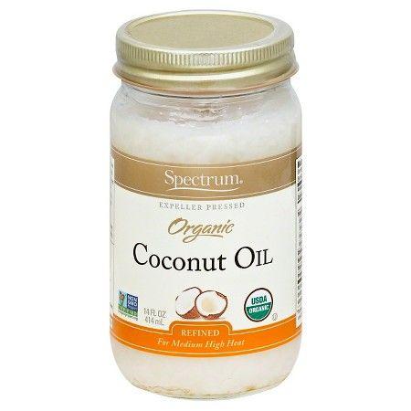 Spectrum Organic Coconut Oil 14 oz : Target