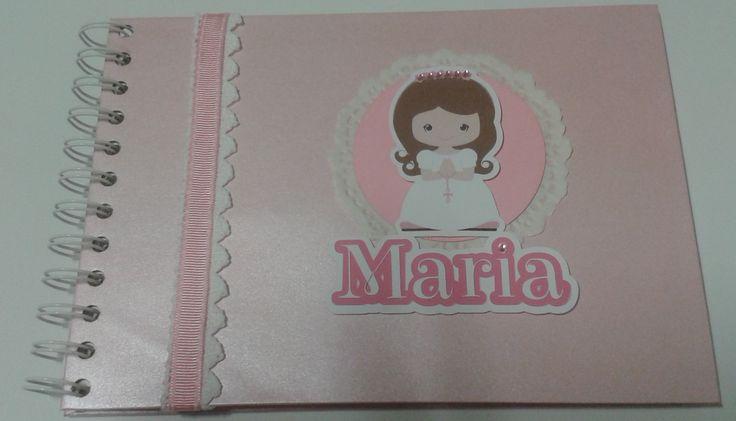 Livro de Honra para a menina Maria