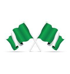 Nigeria flag vector