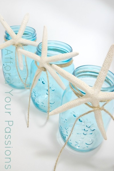 online with Jars and Blue Jars   starfish twine Mason outlet Mason   cute   mens ideas clothing craft designer Starfish   Blue Jars and Mason