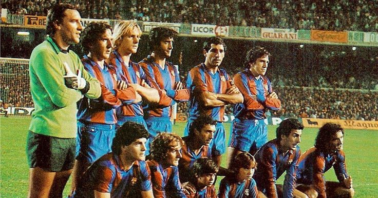BARCELONA contra Atlético de Madrid 31/10/1981