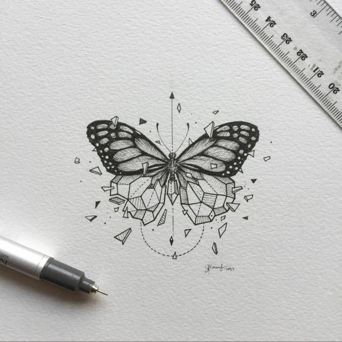 1001 Ideas De Tatuajes De Mariposas Super Bonitos Mariposa Tatuaje Disenos De Unas Dibujos Inspiradores