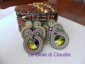 Le gioie di Claudia Orecchini Soutaches Reflection
