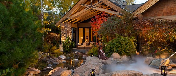 Mountain Spa Retreat   Suncadia Resort - Glade Spring Spa   Spas in Washington State