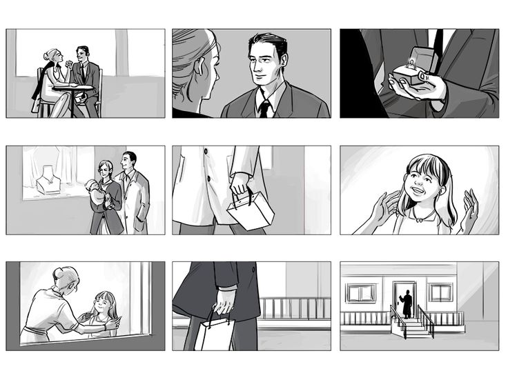 Best Illustration Images On   Storyboard Commercial