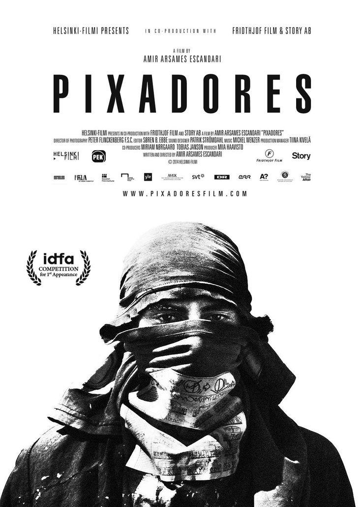 Key art/poster design by brosmark. Pixadores film/movie poster