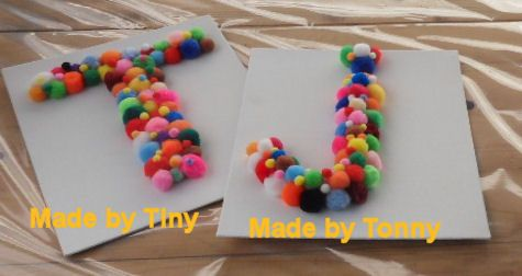 Pompons craft