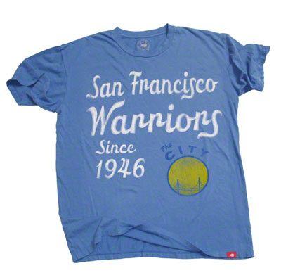 Golden State Warriors Royal Blue Cornbread T-Shirt