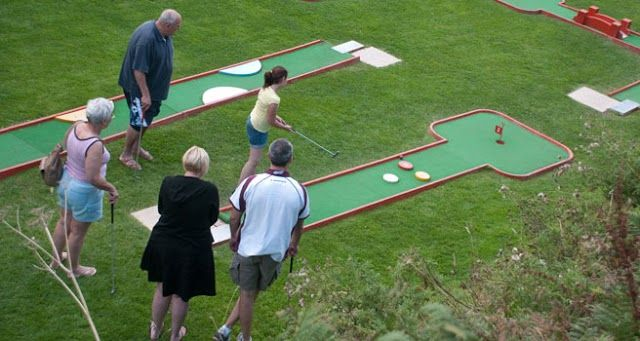 Adventure golf anyone?!  Woolacombe Sands Holiday Park   https://www.campsitechatter.com/campsites/pinboard/Woolacombe-Sands-Holiday-Park/5779562952439790689