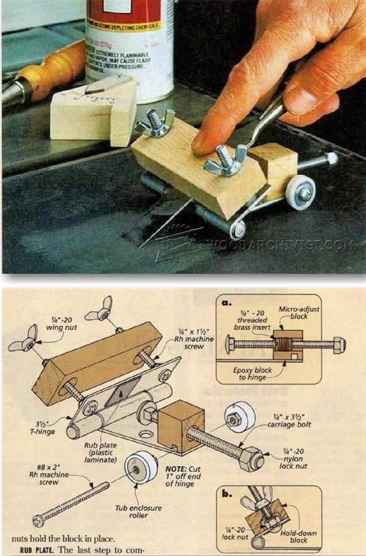 61 Best You Can Made Images On Pinterest Leather Art How To Tie A The Doublewrap Balthus Knot Chisel And Plane Iron Sharpening Jig Tips Jigs Techniques Woodarchivist