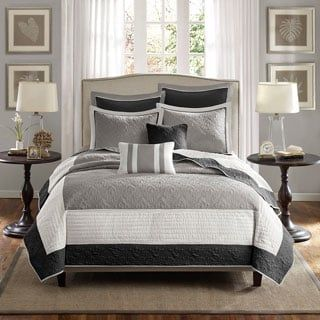 Shop for Madison Park Liverpool 7-Piece Coverlet Set. Get free shipping at Overstock.com - Your Online Fashion Bedding Outlet Store! Get 5% in rewards with Club O! - 17603981