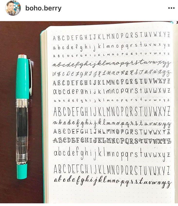 Melhores ideias de caligrafia no pinterest