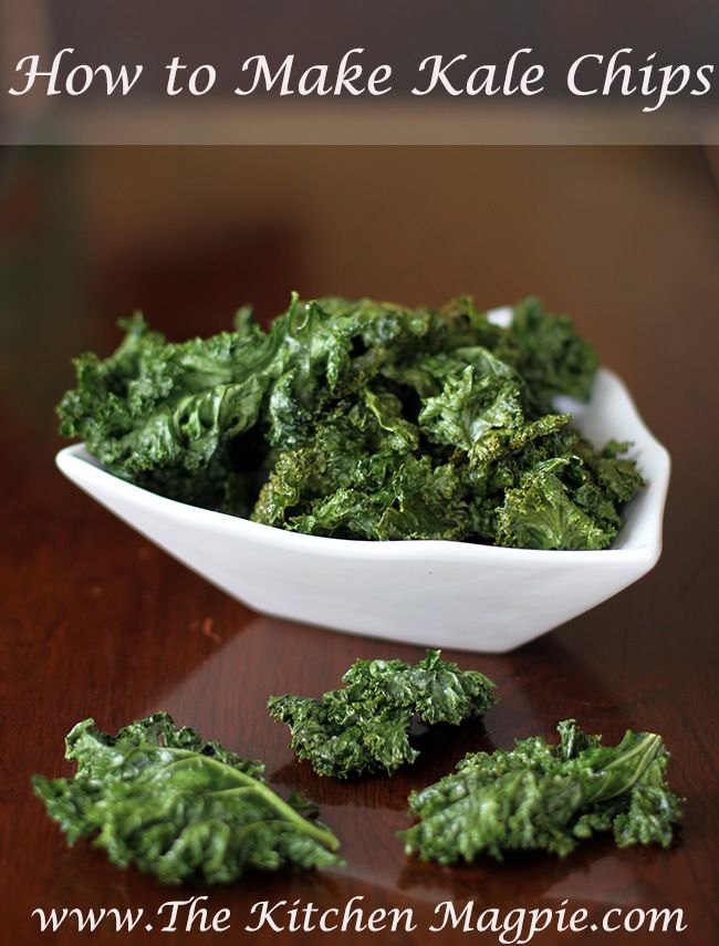 How To Make Kale Chips | From The Kitchen Magpie #recipe #healthy #kale
