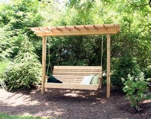Conner perfect garden arbors furniture swinging bench free plans Here for