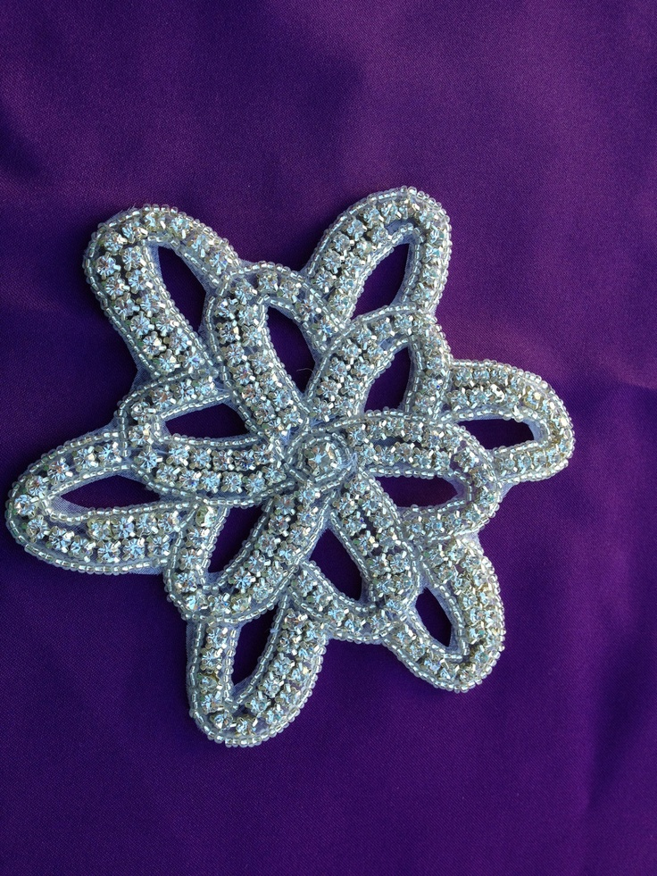 Star rhinestone applique applique wedding sash wedding for Wedding dress appliques suppliers
