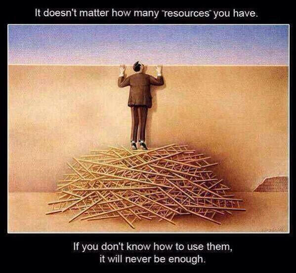 Bazı şeyleri nasıl kullanacağınızı bilmezseniz, hiç bir zaman yeterli gelmezler