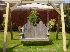 Swing Bench Support Frame Make Smaller For Childrenu0027s Swing